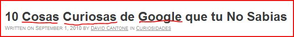 palabras clave google