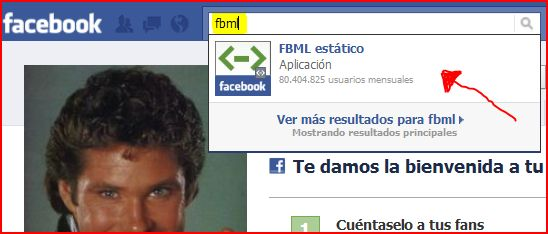 aplicacion fbml facebook