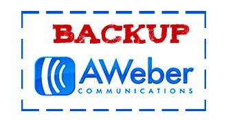 AWeber Backup
