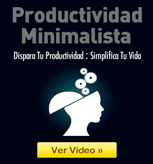 Video de Productividad Minimalista