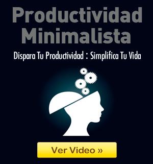 Video de Productividad Minimalista