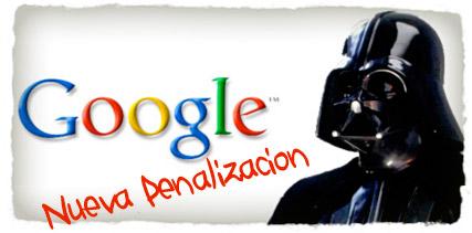 Nueva Penalizacion Google