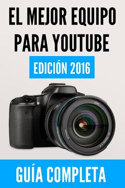 equipo para hacer videos en youtube